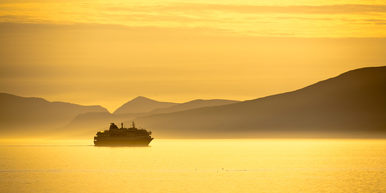 Cabo Norte, Sol de medianoche, Noruega